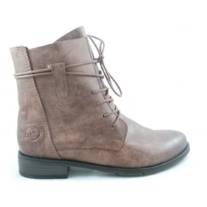 2/25110/39 Rapalli Brown Lace-Up Ankle Boot
