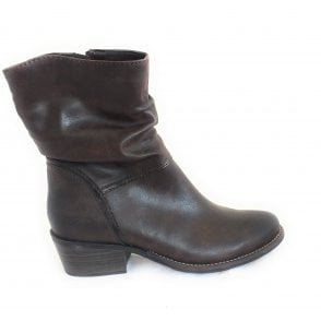 2-25311 Calvola Brown Ankle Boots