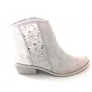 2/25312/28 Calvola Light Grey Ankle Boot
