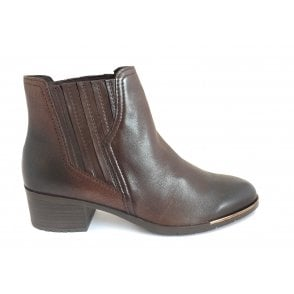 2-25334 Brown Leather Chelsea Boot