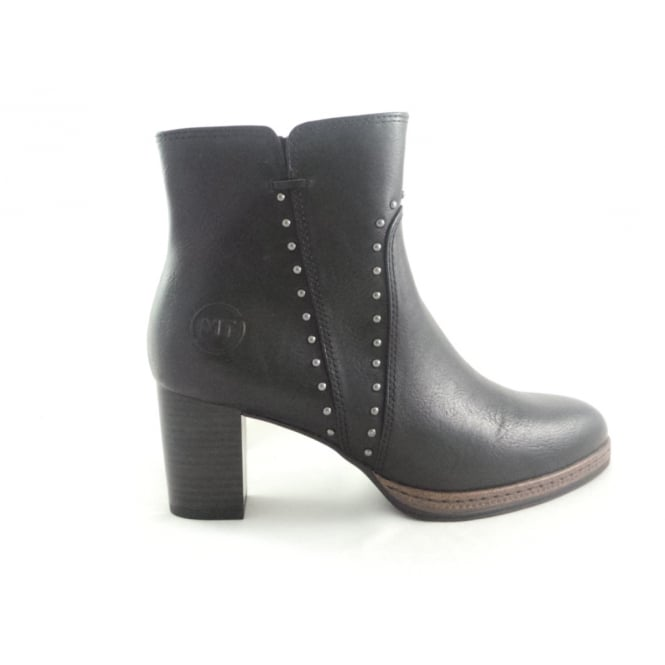 Marco Tozzi 2/25359/29 Pacco Black Ankle Boot
