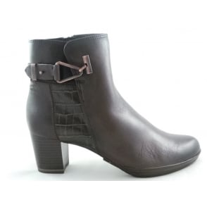 2/25385/29 Barsanti Brown Leather Ankle Boot