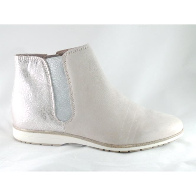 2/25406/28 Roma Pale Pink Leather Ankle Boot