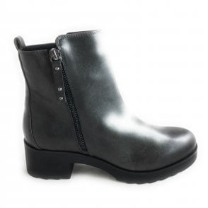 2-25409 Dark Grey Ankle Boot