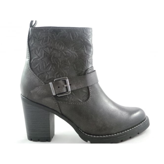 Marco Tozzi 2/25410/29 Dark Grey Ankle Boot