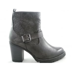 2/25410/29 Dark Grey Ankle Boot