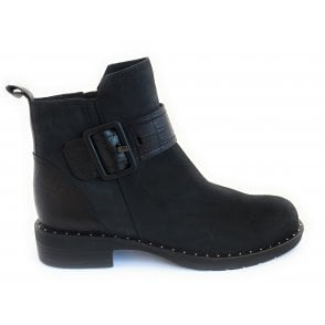 2-25437 Black Ankle Boot