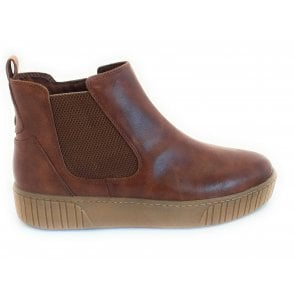 2-25443 Chestnut Brown Chelsea Boot