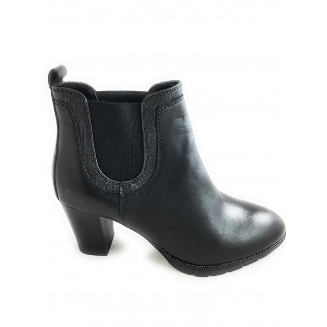 Marco Tozzi 2-25446 Womens Black Ankle Boot