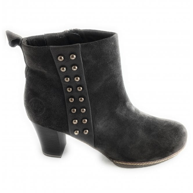 Marco Tozzi 2-25458 Womens Brown Suede Ankle Boot