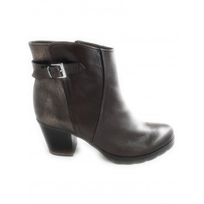 Marco Tozzi 2-25460 Brown Leather Ankle Boot