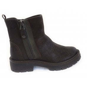 2-25475 Verico Brown Ankle Boots