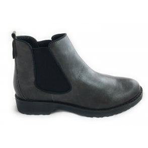 2-25497 Womens Dark Grey Chelsea Boot