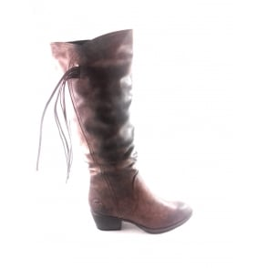 2/25506/29 Bado Light Brown Knee-High Boot