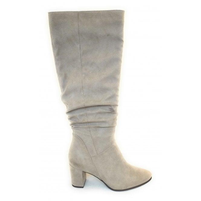 Marco Tozzi 2-25519 Beige Knee High Boots