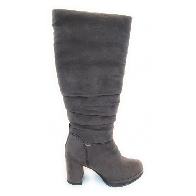 Marco Tozzi 2-25609 Taupe Knee High Boots