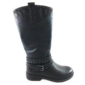 2/25657/39 Prena Black Knee-High Boot