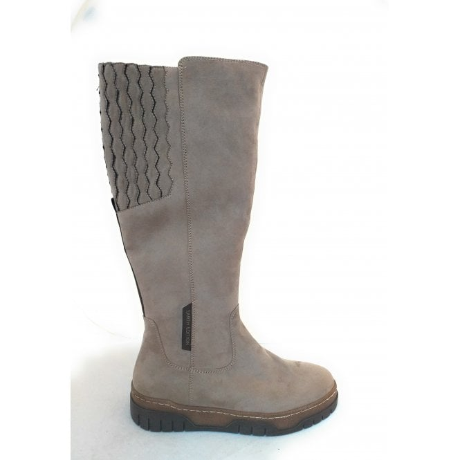 Marco Tozzi 2-25671 Earth Edition Taupe Long Boots