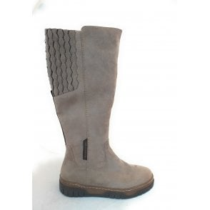 2-25671 Earth Edition Taupe Long Boots