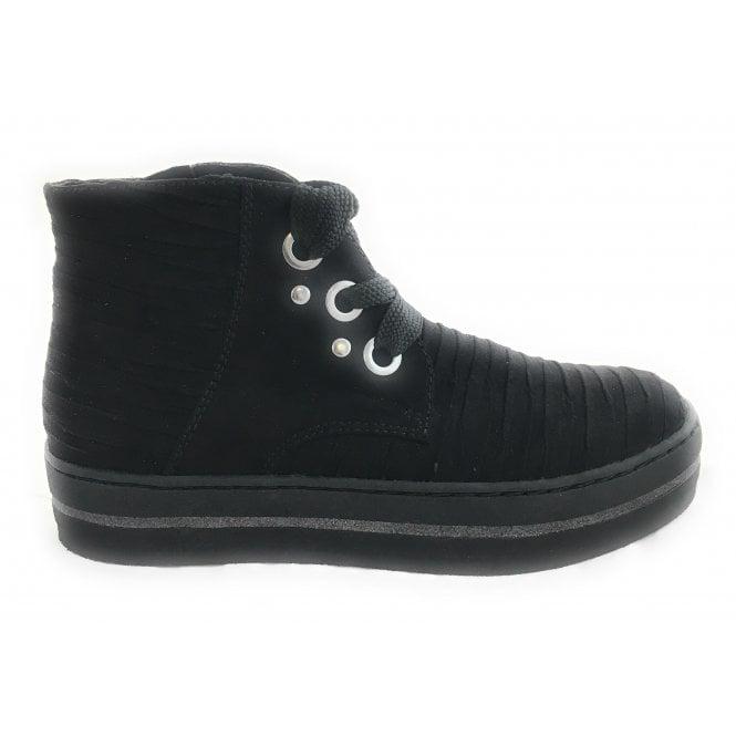 Marco Tozzi 2-25700 Black Wedge Boot