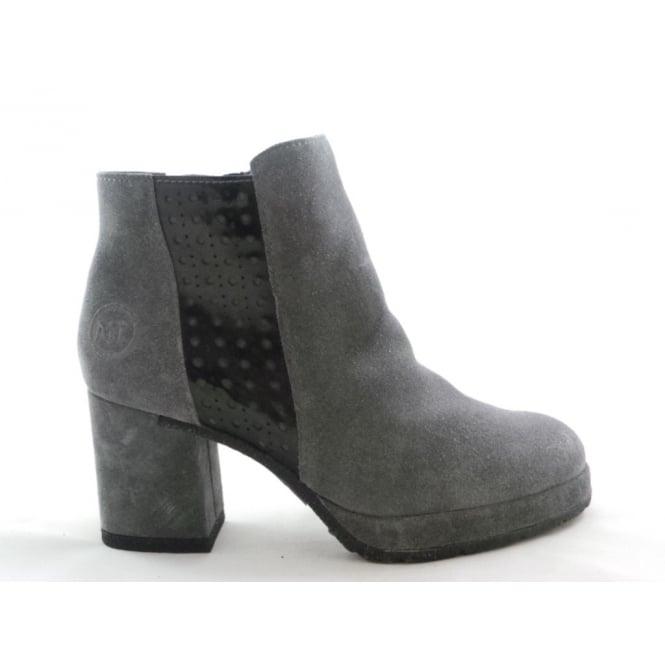Marco Tozzi 2/25819/29 Buba Dark Grey Suede Ankle Boot