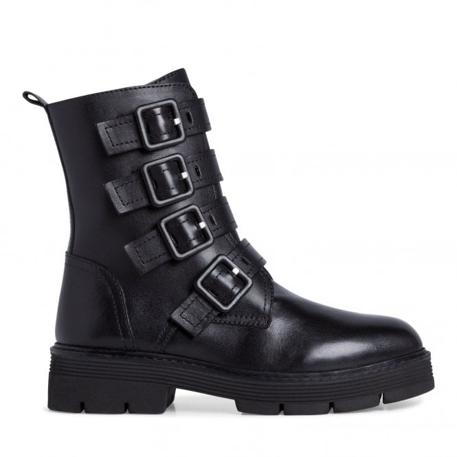 Marco Tozzi 2-25819 Black Leather Boots