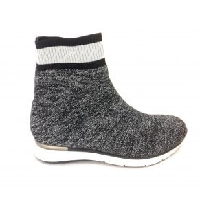 2-25850 Silver Stretch Sock Boot