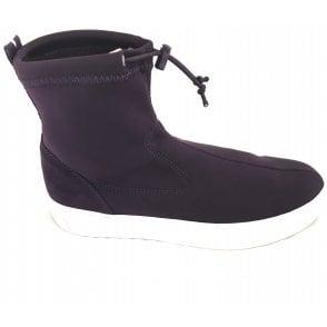 2-25852 Purple Stretch Sock Boot