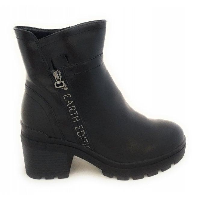 Marco Tozzi 2-25877 Earth Edition Black Boots