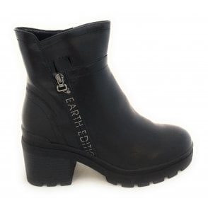 2-25877 Earth Edition Black Boots