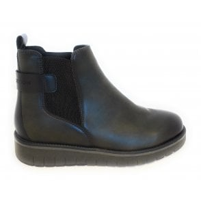 2-25881 Earth Edition Forest Green Chelsea Boots