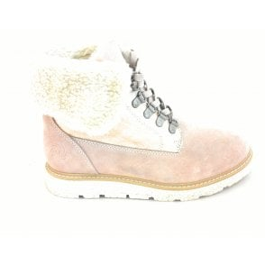 2-26254 Light Rose Pink Ankle Boot