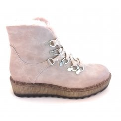 2-26286 Old Rose Ankle Boot