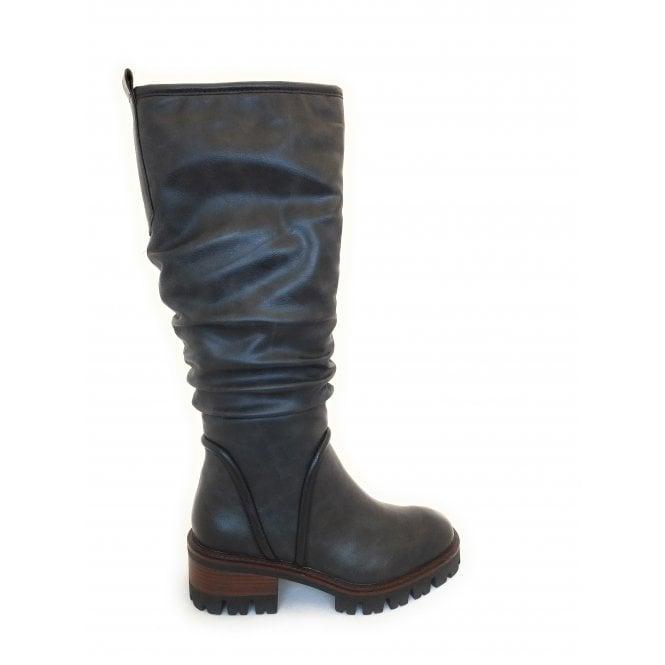 Marco Tozzi 2-26644 Dark Grey Knee High Boots