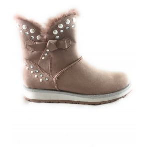 2/26837/39 Grana Rose Pink Ankle Boot