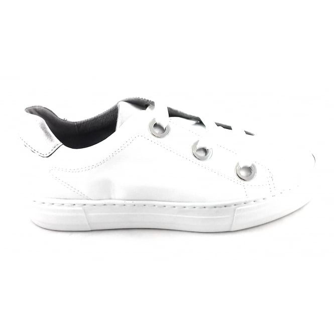 Jenny 22-50649 Canberra White Leather Casual Lace-Up Shoe