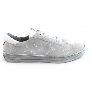 22-53214 Dublin Grey Lace-Up Casual Shoes