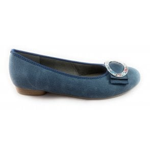 22-53320 Pisa Denim Blue Pump
