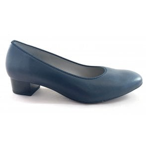 22-56802 Milano Navy Court Shoe