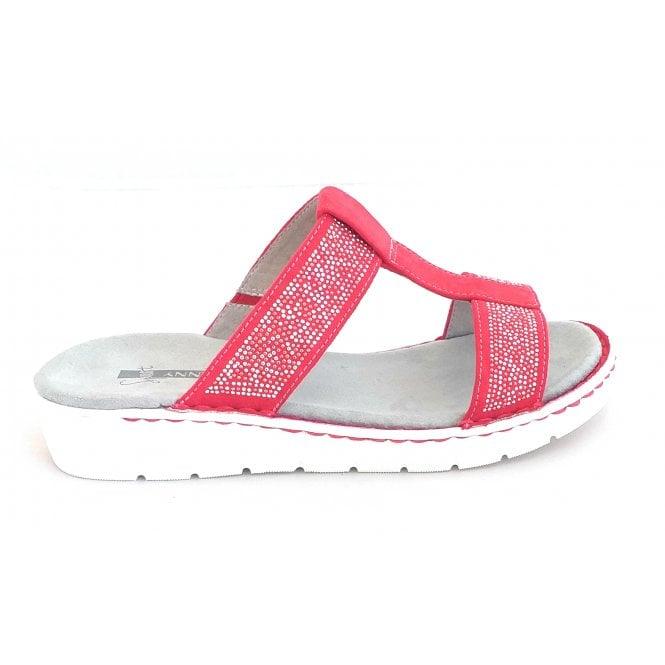Jenny 22-57207 Korsika Sport Red Mule Sandal