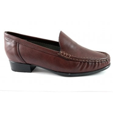 22-60107 Atlanta Burgundy Loafer