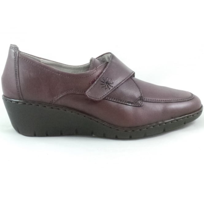 Jenny 22-60955 Reggio-Ang Ox Blood Leather Casual Shoe