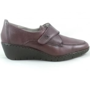 22-60955 Reggio-Ang Ox Blood Leather Casual Shoe