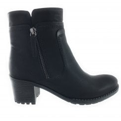 22-67353 Madison Black Ankle Boot