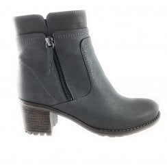 22-67353 Madison Grey Shimmer Ankle Boot