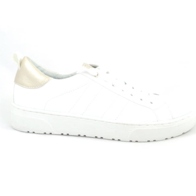 Marco Tozzi 23717 Ago White Lace-Up Trainer