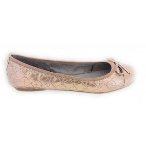 24304-21 Olivia Rose Gold Ballerina Pump