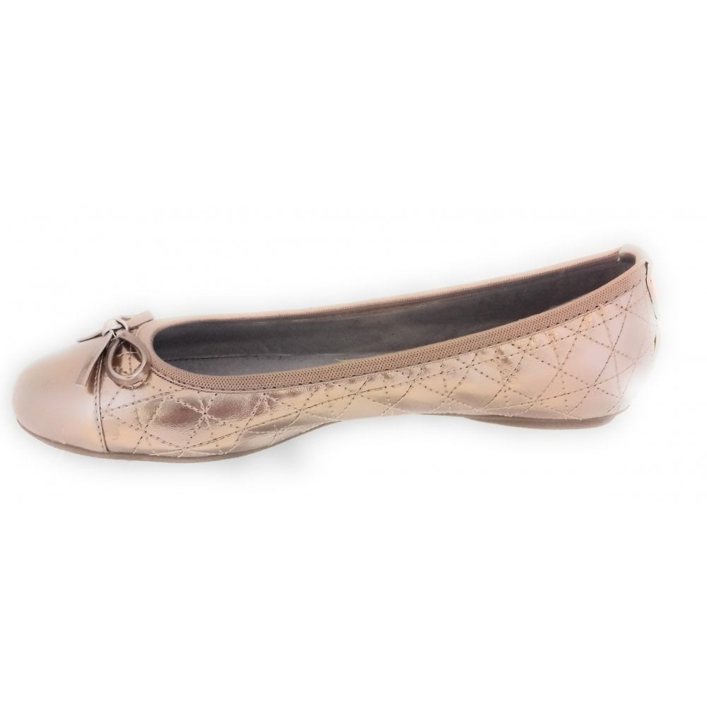 82977e001b3 Butterfly Twists 24304-21 Olivia Rose Gold Ballerina Pump. Hover over image  to zoom. Click to enlarge