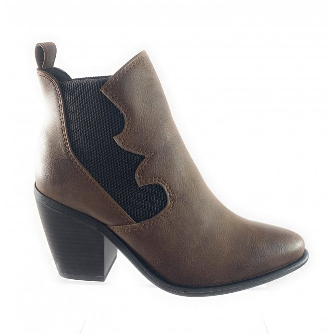Marco Tozzi 25020-23 Tan Ankle Boot