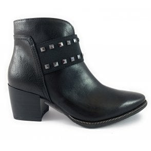 25046-33 Black Ankle Boot